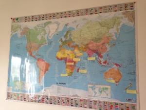 Maud - Map Monde