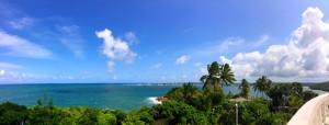 Vue du temple - Jungle Beach