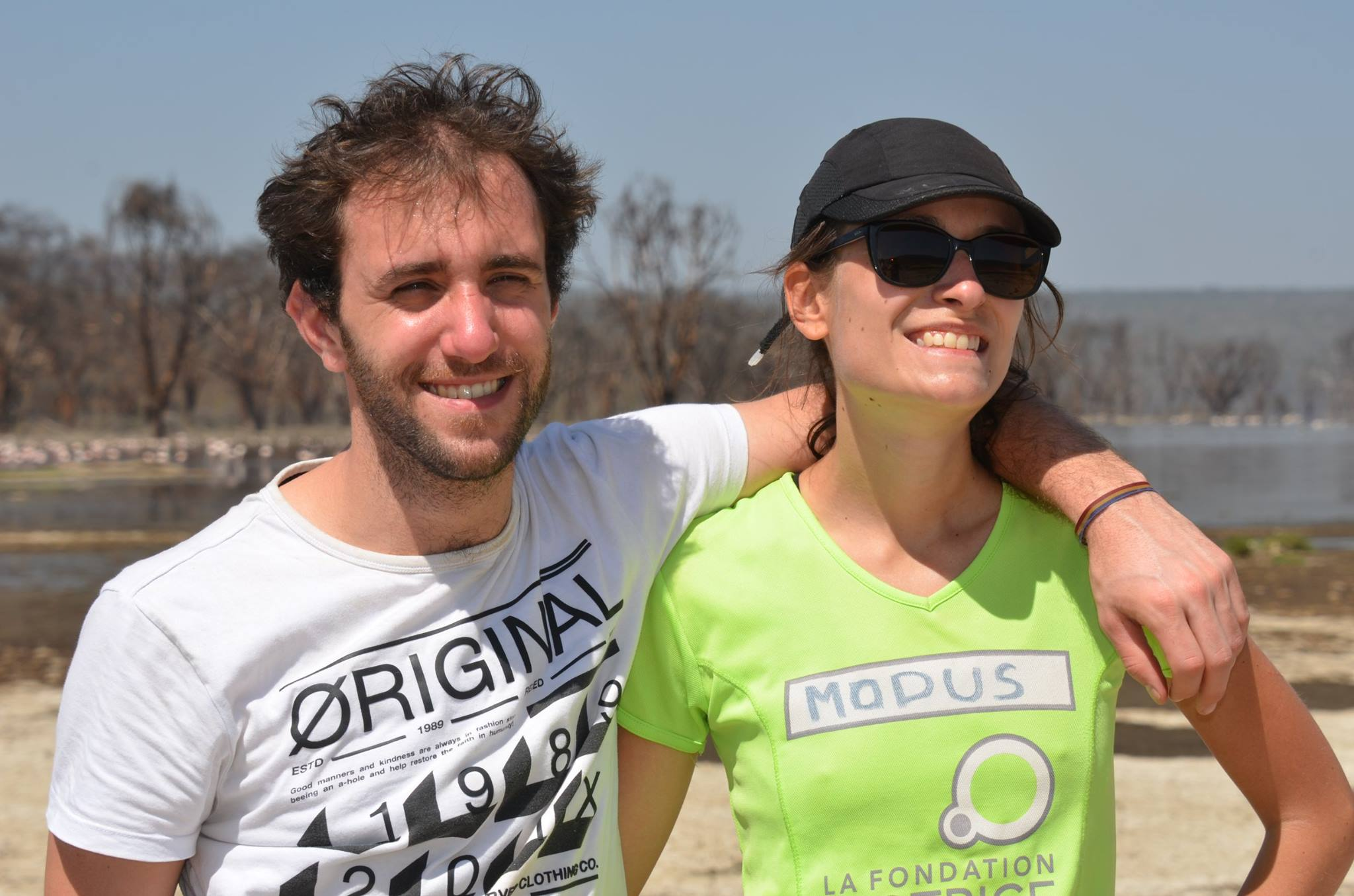 Nakuru – Thibault et moi