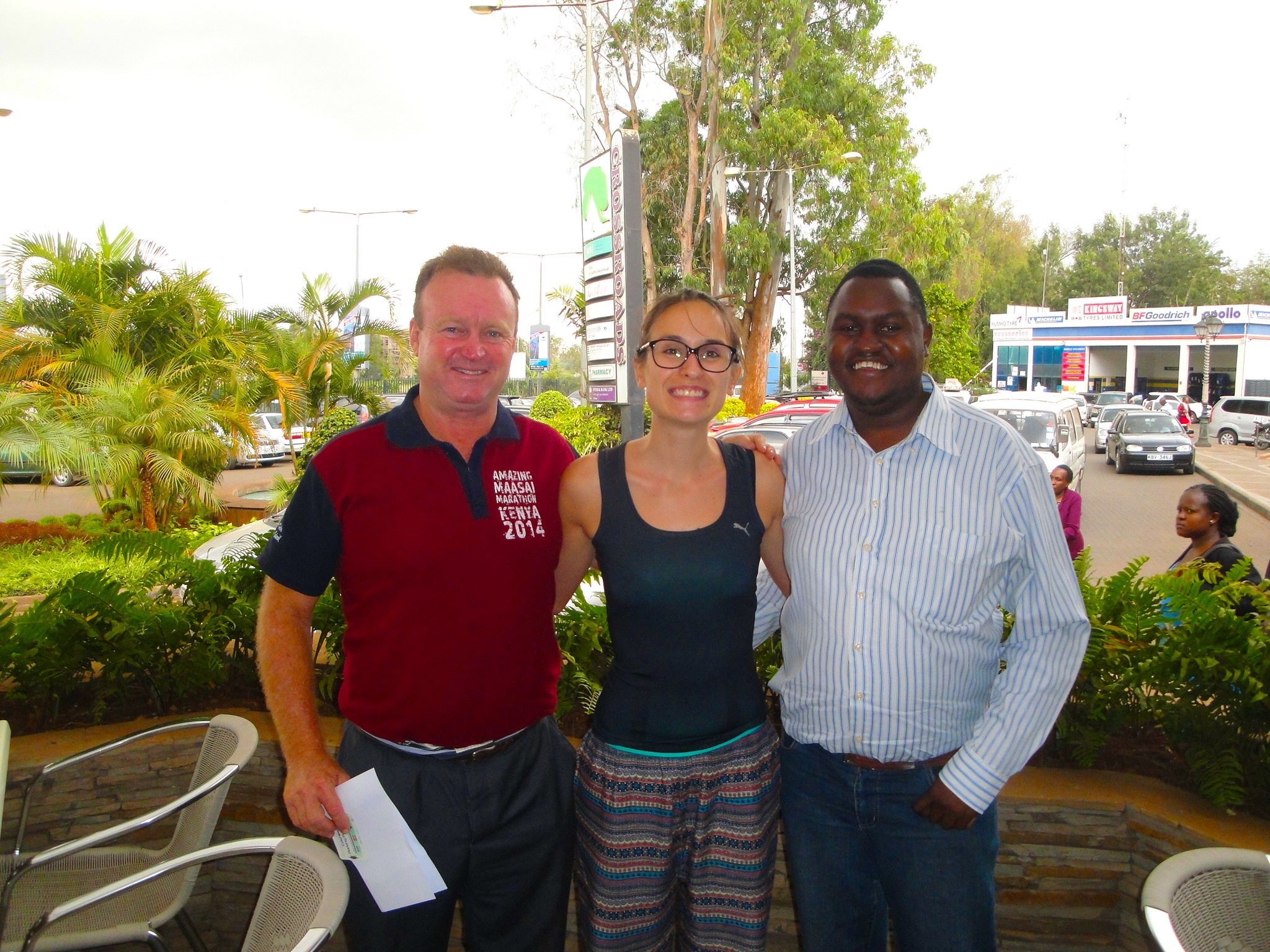 Meeting Michael and James from Nairobi Marathon – Nairobi
