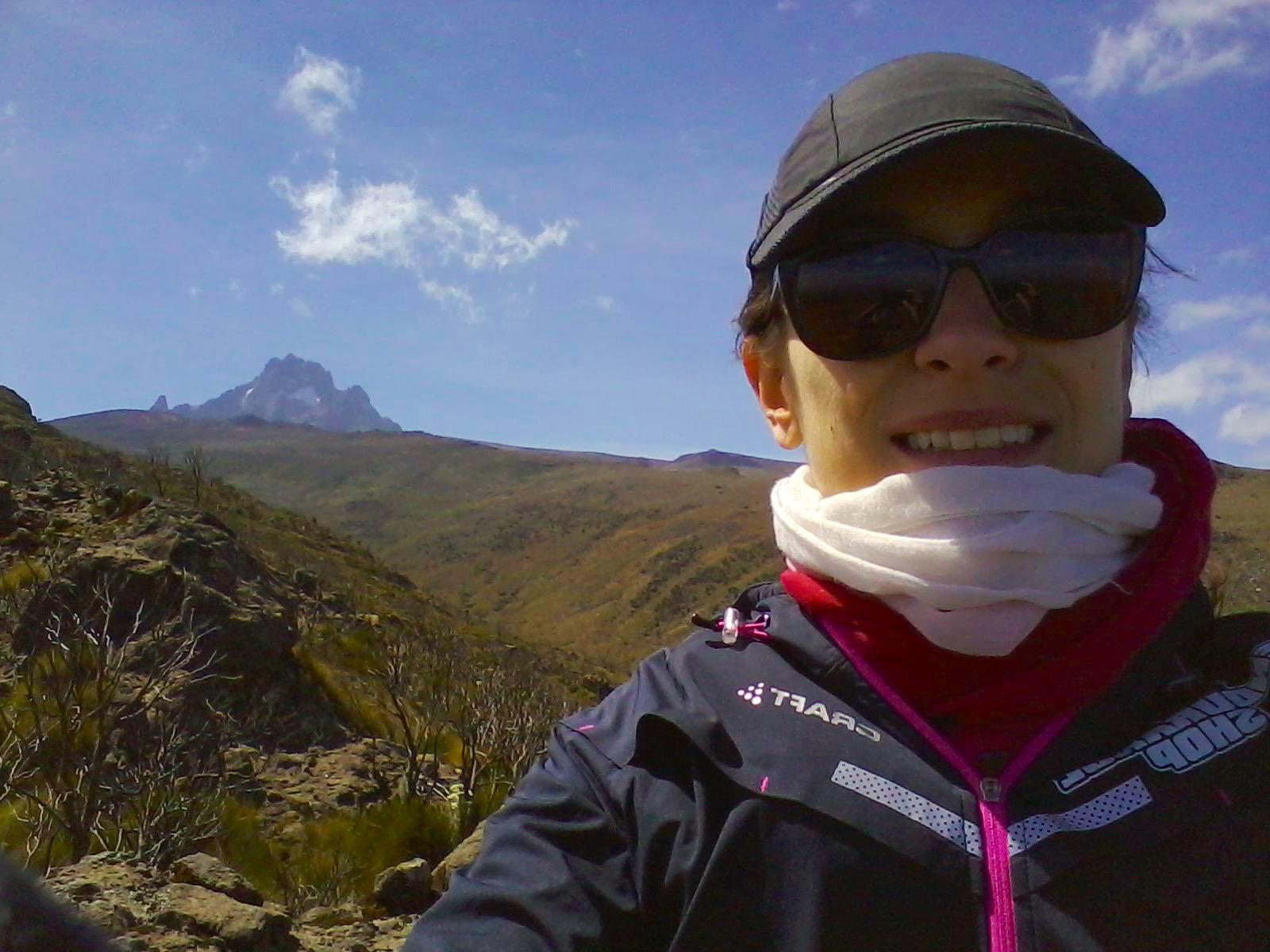 Mont Kenya Selfie