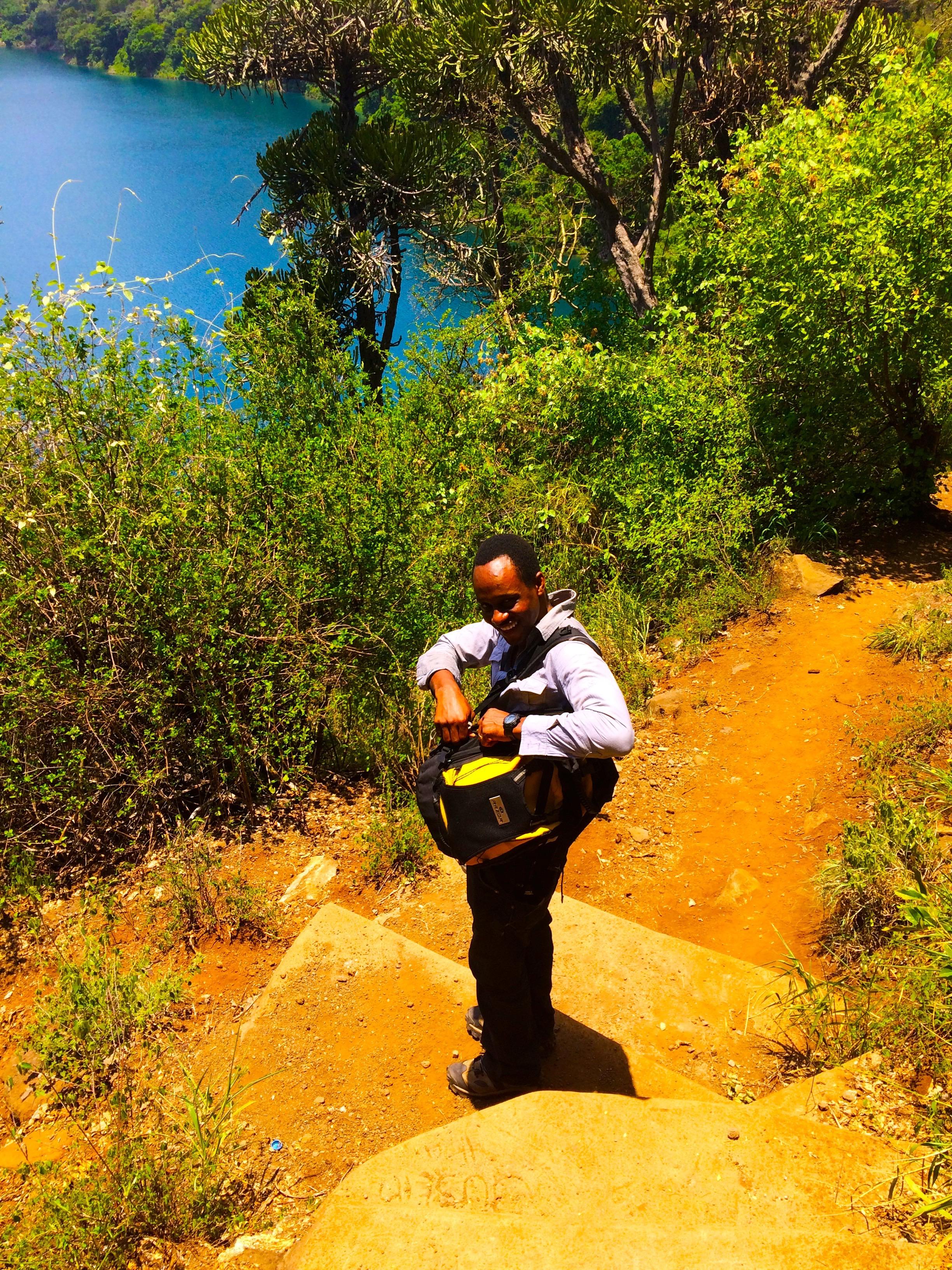 Jeffrey – Lake Challa
