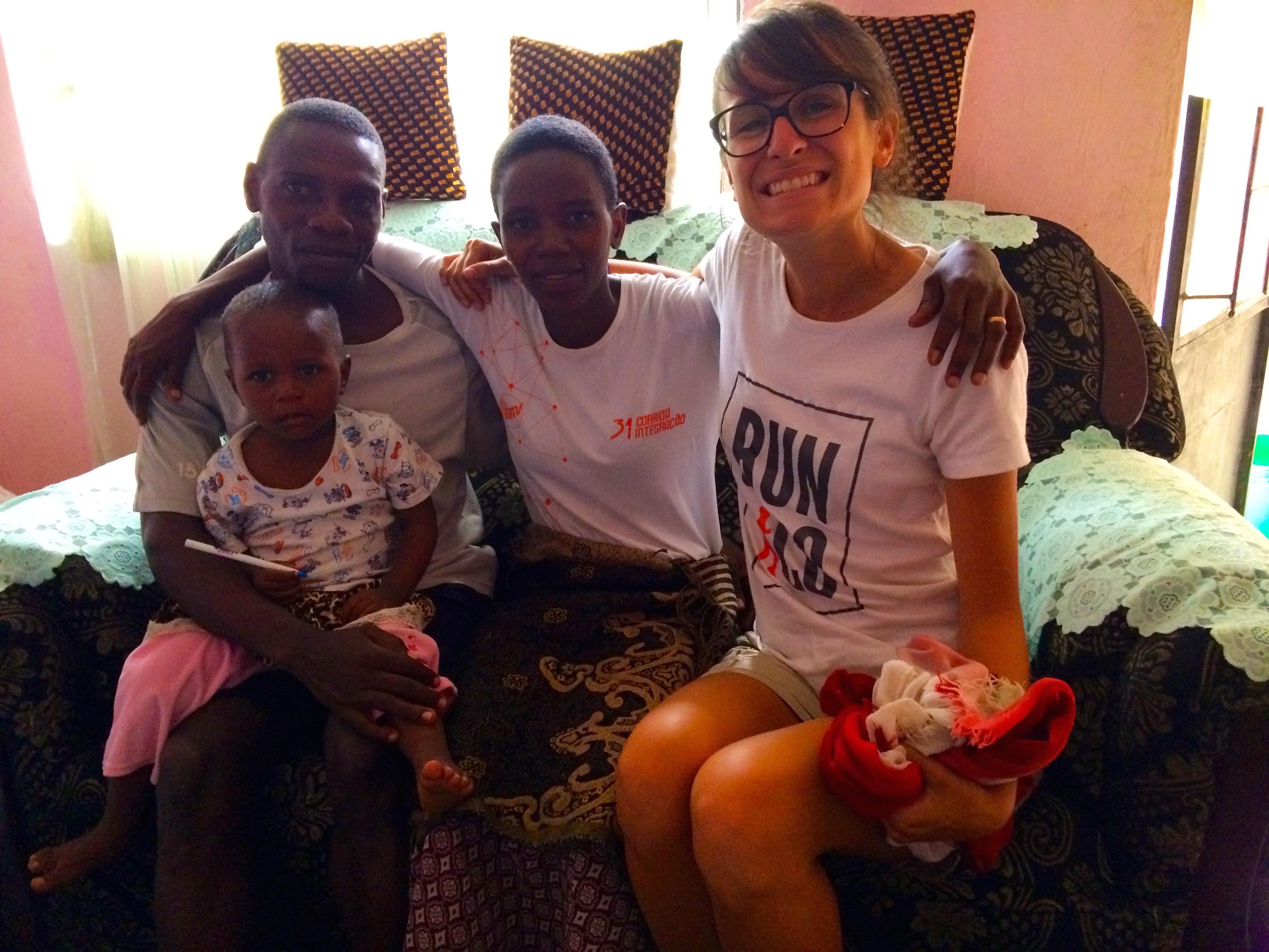 Madgalena, sa famille et moi