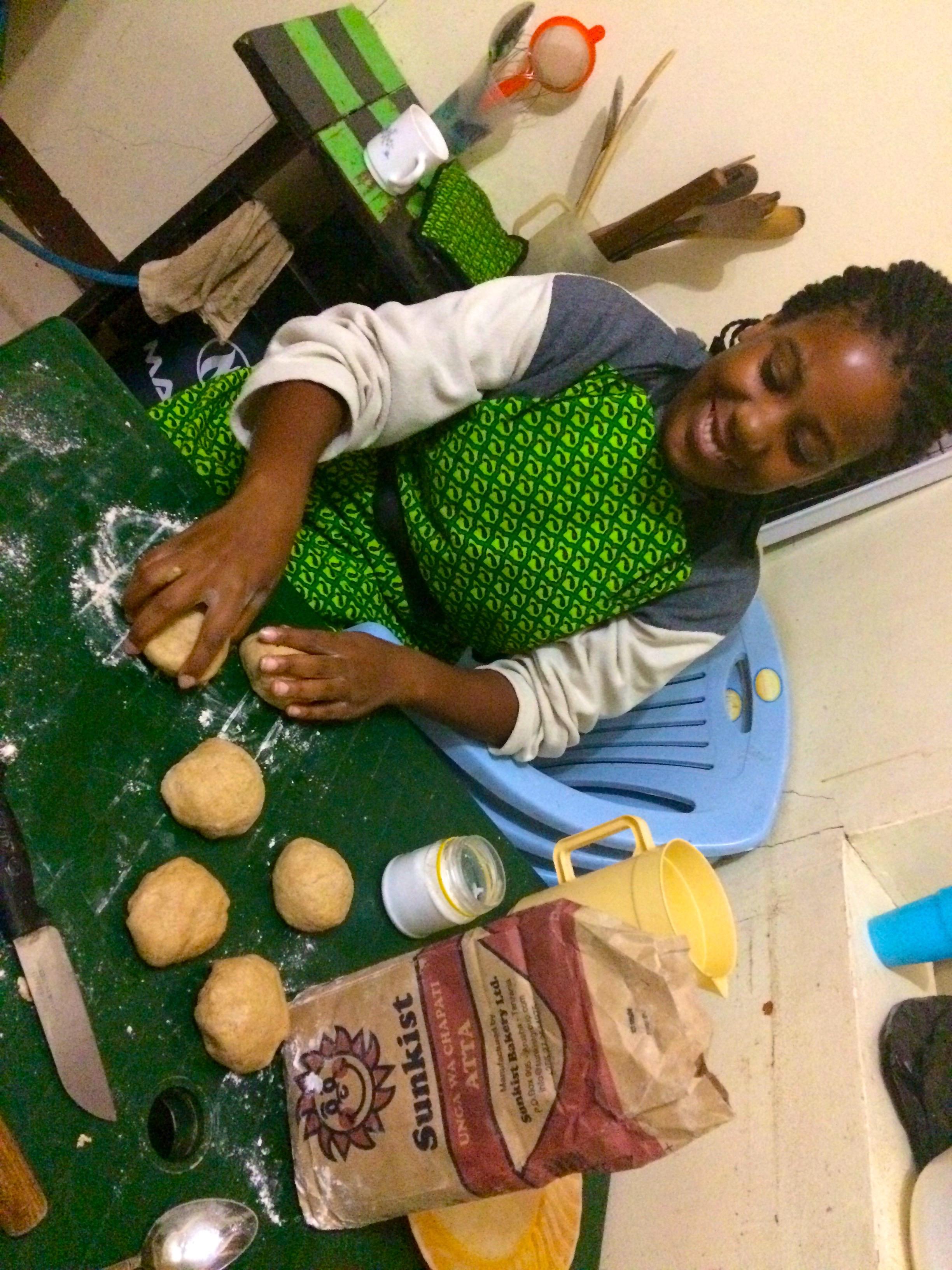 Cours de Chapati par Sungi – Arusha