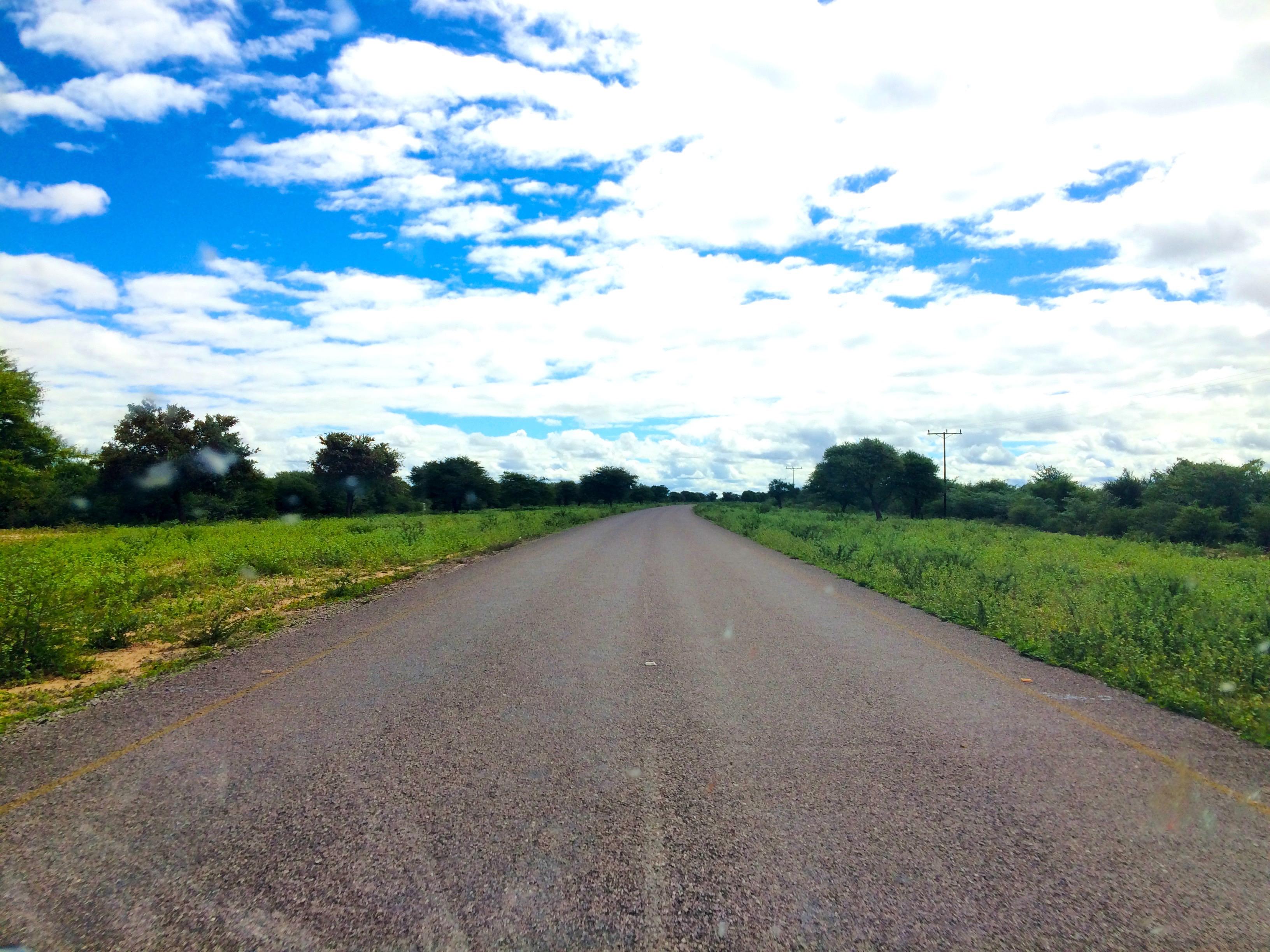 En route pour le Botswana