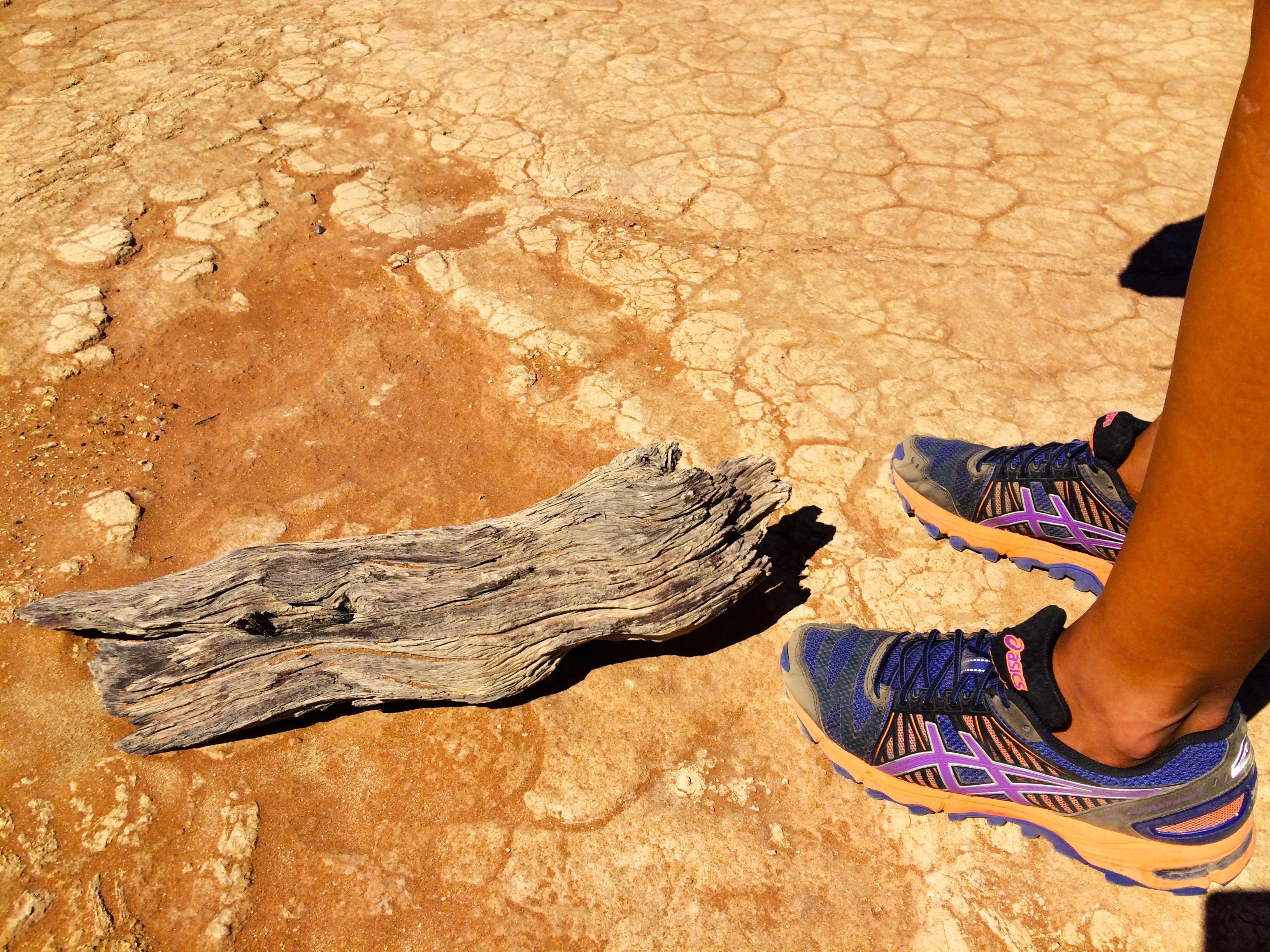 Courir dans le désert ?