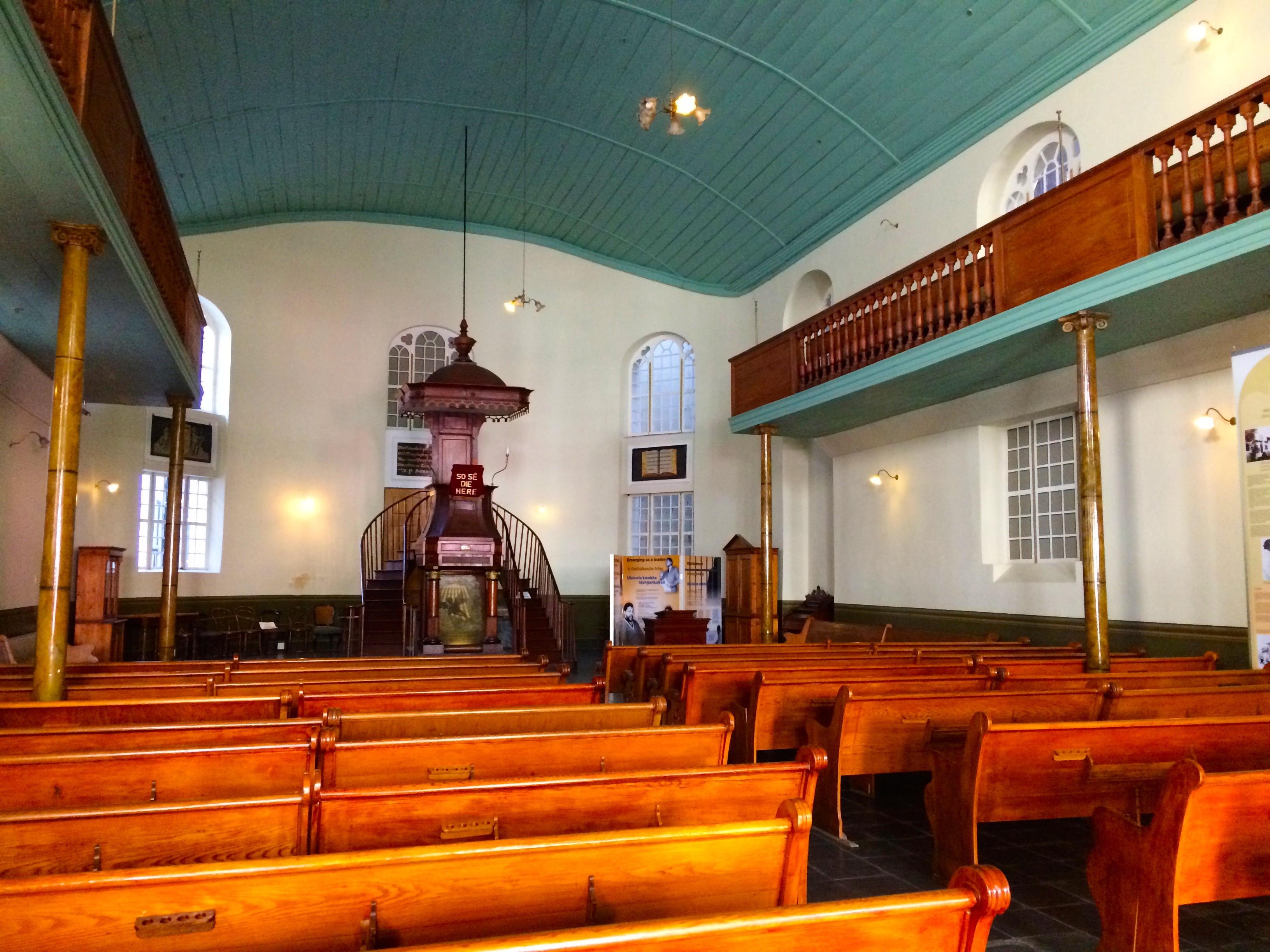 Une église de Cape town