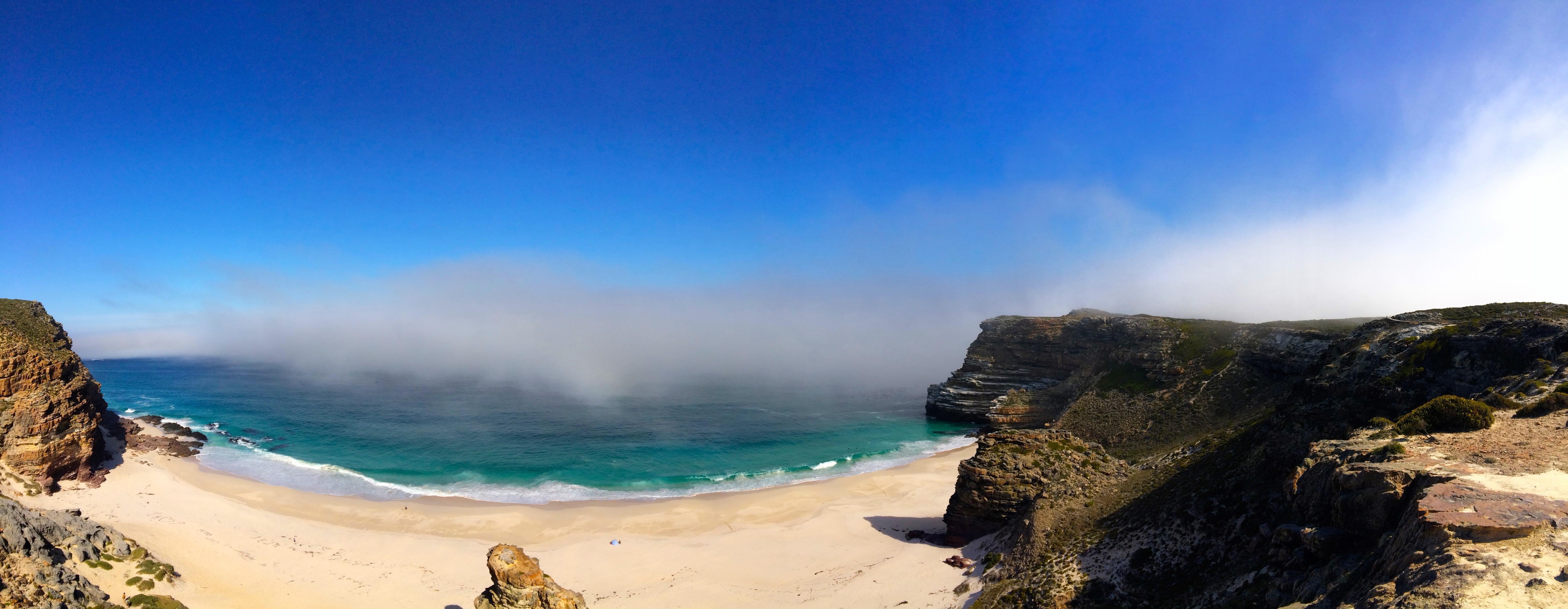 La vue de Cape point