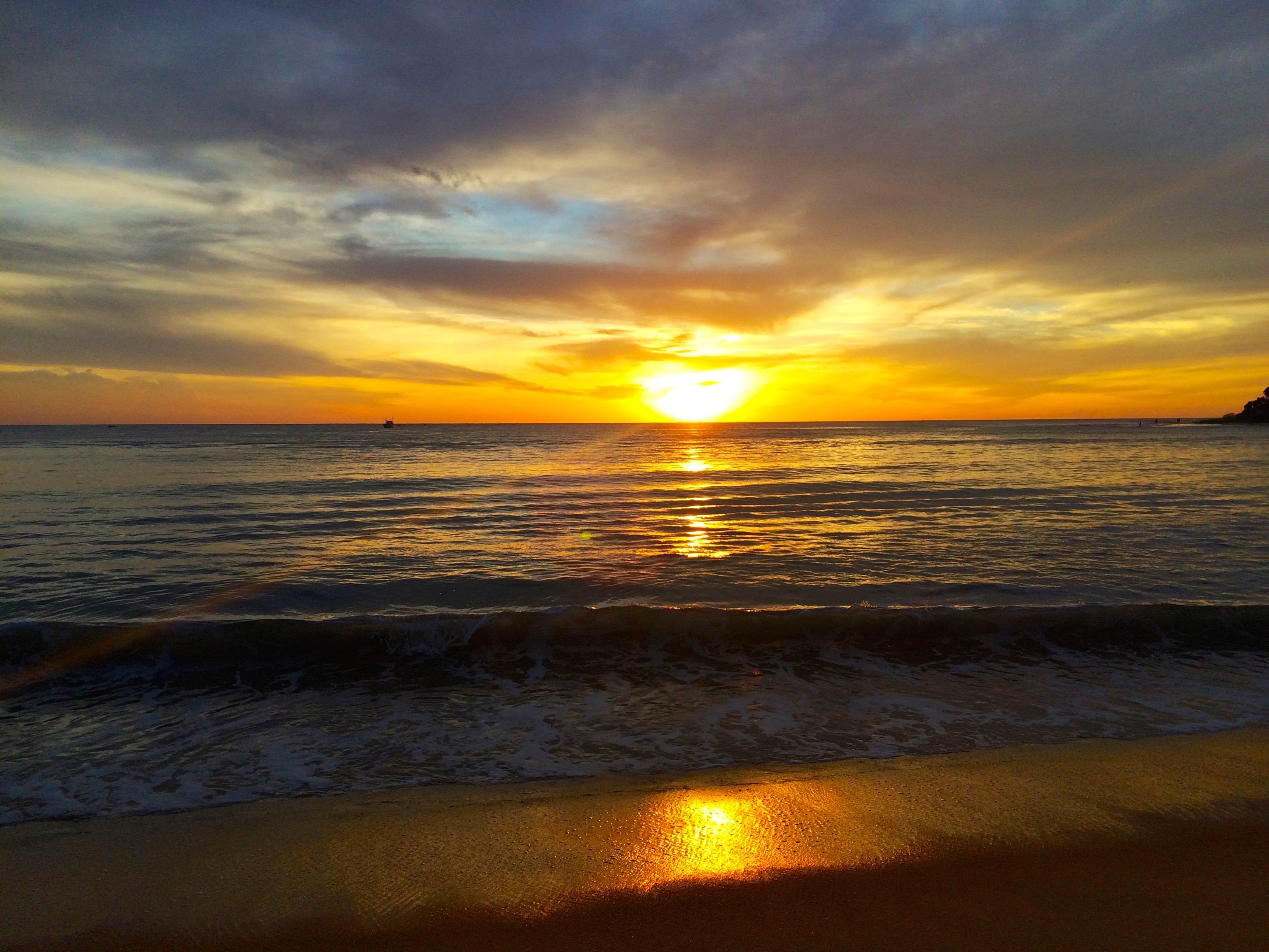 Lever de soleil – Arugam bay