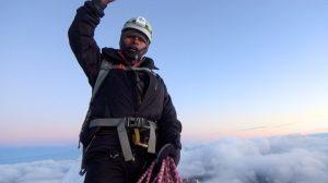Huayna Potosi 9 - Tout en haut